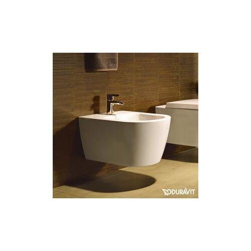 Duravit ME by Starck Wand-Bidet L: 57 B: 37 cm weiß matt, mit WonderGliss 22881532001