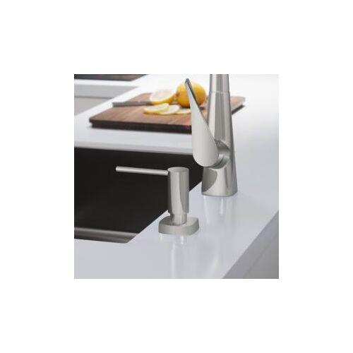 Hansgrohe A71 Spülmittel- & Lotionspender B: 57 H: 92 mm, eckig edelstahl 40468800