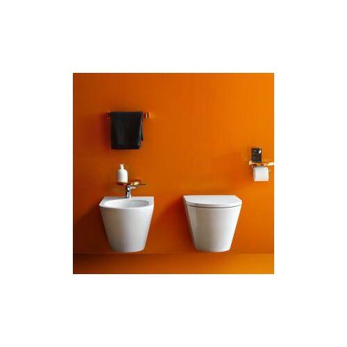 Kartell by Laufen Wand-Bidet L: 54,5 B: 37 cm weiß, mit Clean Coat H8303314003021