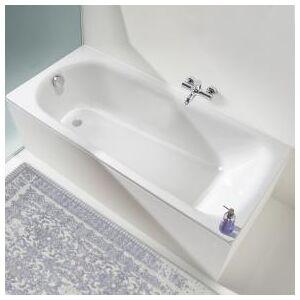 Kaldewei Saniform Plus Rechteck-Badewanne L: 180 B: 80 H: 42 cm weiß 112800010001