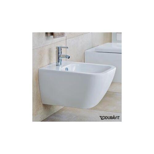 Duravit Happy D.2 Wand-Bidet L: 54  B: 35,5 cm weiß, mit WonderGliss 22581500001