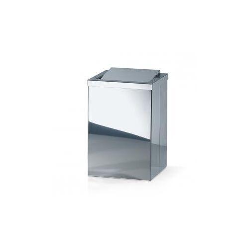 Decor Walther DW 113 Papierkorb mit  Schwingdeckel B: 200 H: 300 T: 200 mm edelstahl poliert 0610170