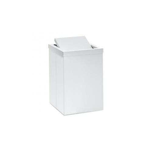 Decor Walther DW 113 Papierkorb mit  Schwingdeckel B: 200 H: 300 T: 200 mm weiß matt 0610150