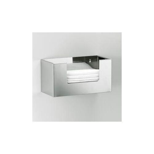 Decor Walther DW 117 Papiertuchbox B: 270 H: 140 T: 130 mm edelstahl poliert 0818970