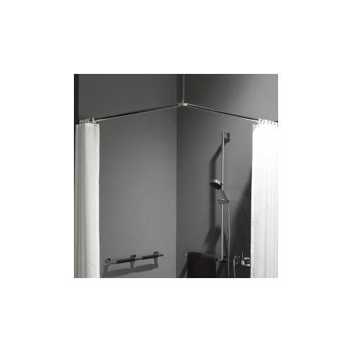 Emco System2 Duschvorhang-Set B: 900 T: 900 H: 400 mm 358700121
