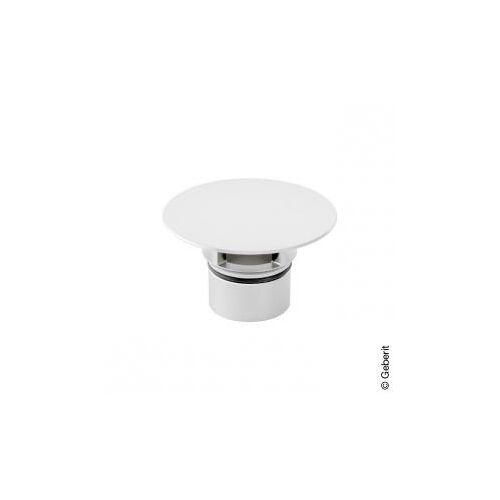 Geberit Clou Ventilabdeckung für Waschbeckenanschluss Kunststoff weiß 241993111