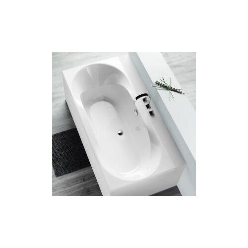 Hoesch SPECTRA Rechteck-Badewanne L: 180 B: 80 H: 48 cm weiß 3651.010