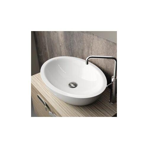 Ideal Standard ovaler Waschtisch B: 60 H: 16 T: 42 cm weiß K078401