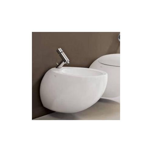 Laufen Alessi One Wand-Bidet L: 58,5 B: 39 cm weiß, mit Clean Coat H8309714003041