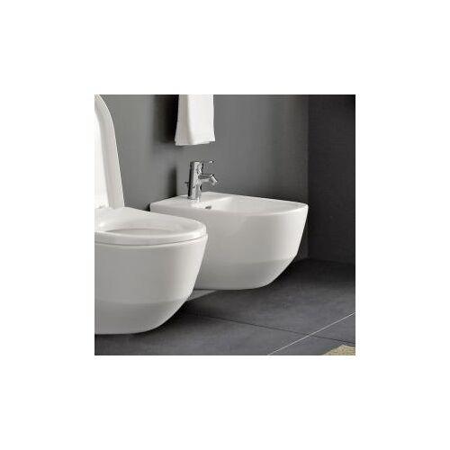 Laufen Pro Wand-Bidet L: 53 B: 36 cm, für innenliegende Eckventile weiß, mit Clean Coat H8309524003021