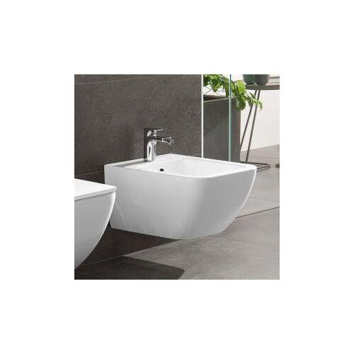 Villeroy & Boch Venticello Wand-Bidet L: 56 B: 37,5 cm weiß, mit CeramicPlus 441100R1