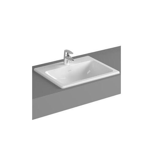 VitrA S20 Einbauwaschtisch B: 55 T: 45 cm, mit 1 Hahnloch 5465B003-0001