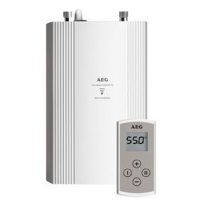 AEG DDLE Kompakt 11/13 Durchlauferhitzer mit Fernbedienung, elektronisch geregelt, 20 bis 60°C 11/13,5 kW mit Fernbedienung 230769, EEK: A