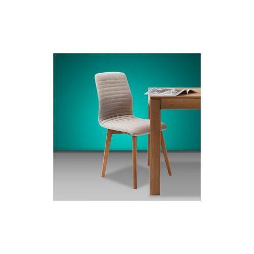 KARE Design Lara Stuhl B: 440 H: 920 T: 450 mm, eiche/ecru 81230