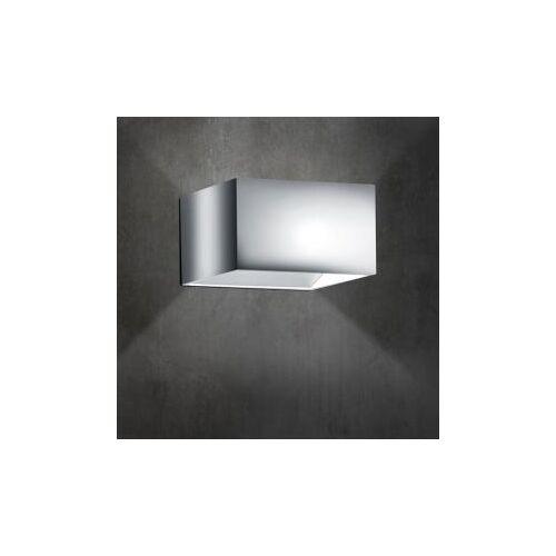 B-LEUCHTEN CUBE LED Wandleuchte B: 10 H: 6 T: 10 cm, chrom 40095/1-02, EEK: A+