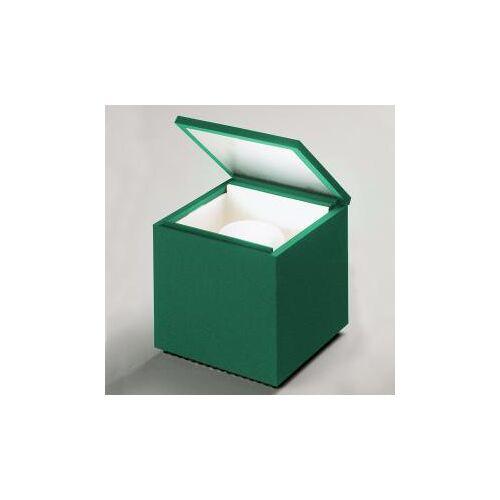 CINI & NILS Cini&Nils Cuboluce wireless laccaseta USB LED Tischleuchte B: 10 H: 11 T: 10 cm, grün ACCNCUB.0250W, EEK: A+