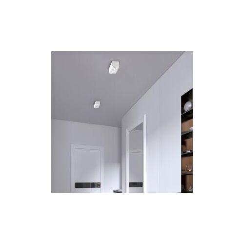 Helestra CAS LED Deckenleuchte/Spot, 2-flg B: 18 H: 5 T: 7 cm, weiß 25/2115.07, EEK: A+