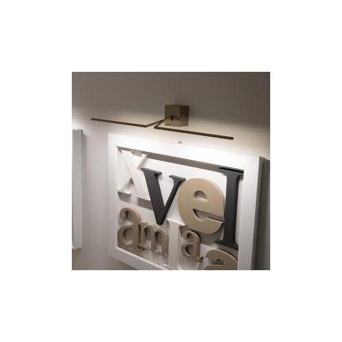ICONE Ypsilon 90 LED Wandleuchte B: 110 T: 17 cm, bronze YPSILON110BS, EEK: A+