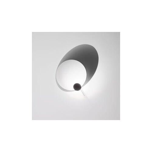 Ingo Maurer Eclipse Elipse LED Wandleuchte Ø 60 cm, weiß 1045000, EEK: A+
