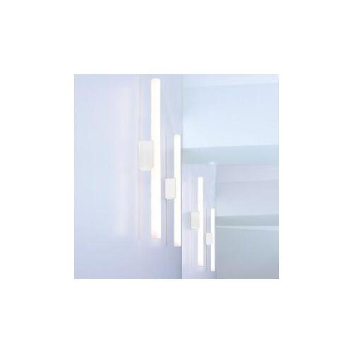 mawa linestra 7 Wandleuchte H: 50  T: 4,7 cm, weiß matt li 7 RAL 9016, EEK: A