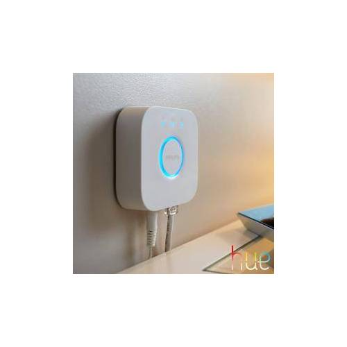 Philips Hue Bridge 2.0 B: 8 H: 8 T: 2,6 cm, weiß 51180000
