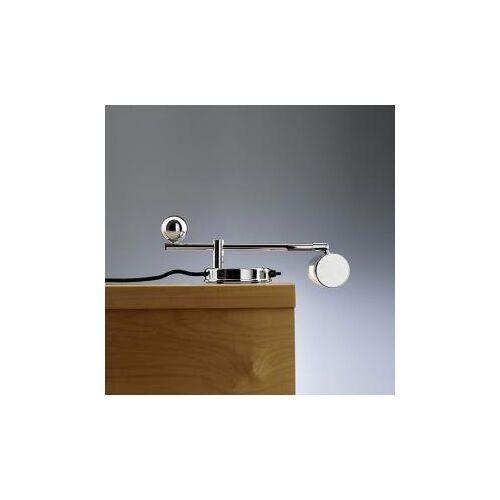 TECNOLUMEN De Stijl 28 Klavierleuchte/Tischleuchte B: 36 H: 11 T: 20 cm, chrom DS28Chr, EEK: A++