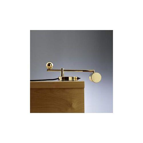 TECNOLUMEN De Stijl 28 Klavierleuchte/Tischleuchte B: 36 H: 11 T: 20 cm, messing DS28M, EEK: A++