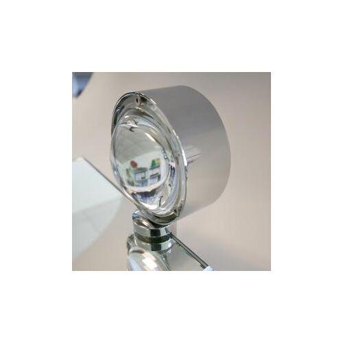 Top Light Puk Fix Spiegel-Schraubklemmleuchte, Halogen Ø 8 T: 10 cm, chrom 2-08012, EEK: A+