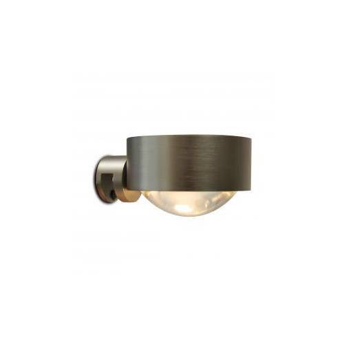 Top Light Puk Fix Spiegel-Schraubklemmleuchte, Halogen Ø 8 T: 10 cm, nickel matt 2-08013, EEK: A+