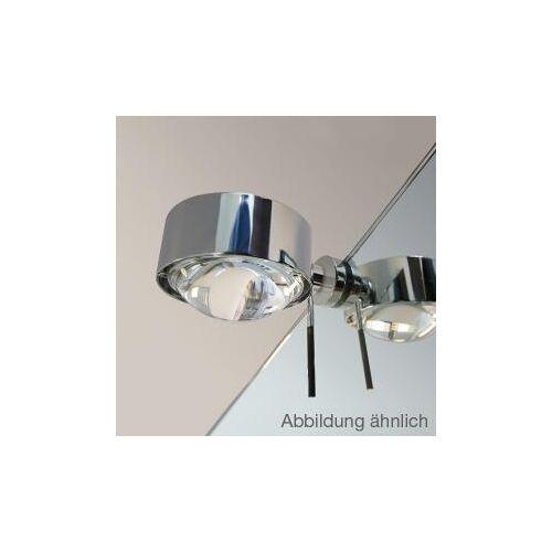 Top Light Puk Fix + Spiegel-Schraubklemmleuchte, Halogen Ø 8 T: 11 cm, chrom matt 2-08031, EEK: A+