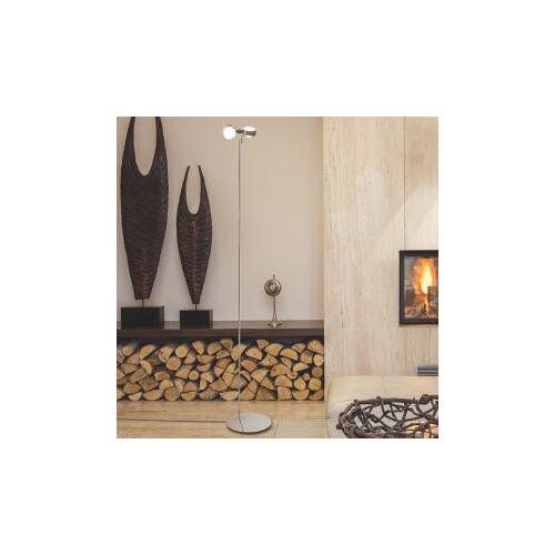 Top Light Puk Floor maxi twin Stehleuchte mit Dimmer, Halogen Ø 8 H: 180 cm, chrom 6-081802-2, EEK: B
