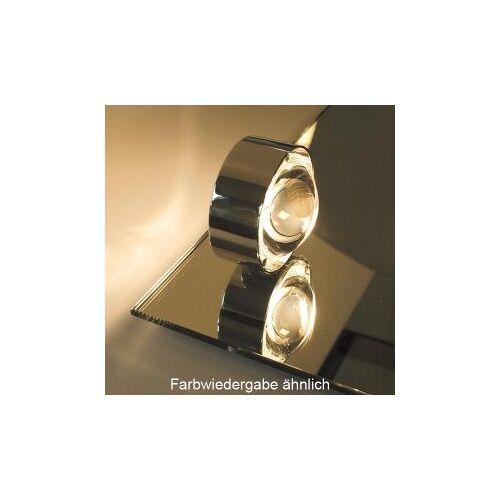Top Light Puk Mirror Spiegeleinbauleuchte, Halogen Ø 8 cm, chrom matt 2-08211, EEK: A+