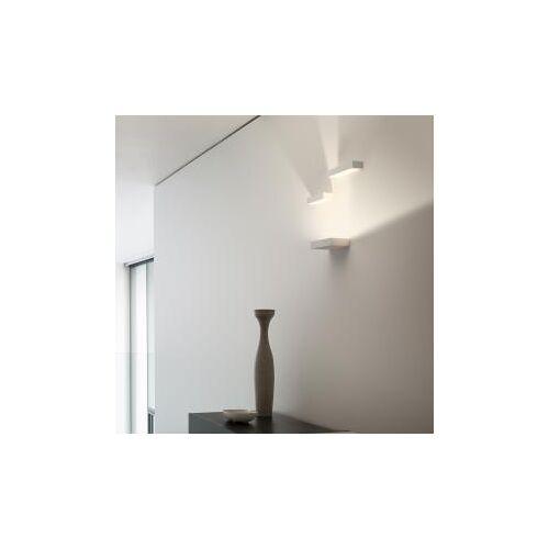 Vibia Set Small LED Wandleuchte B: 30 H: 25 T: 10 cm, weiß matt/satiniert 775193/12, EEK: A+