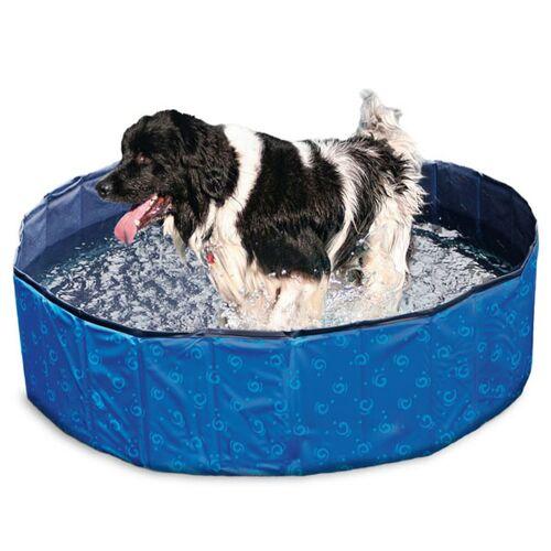 Karlie Flamingo DOGGY POOL Swimmingpool für Hunde - Blau gemustert - 160 cm