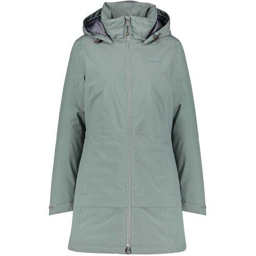 Meru Damen Hokksund Mantel Grün 3XL
