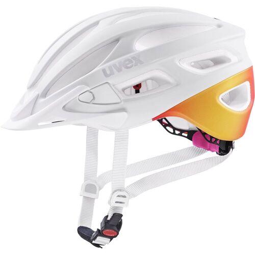Uvex True cc Fahrradhelm Weiß