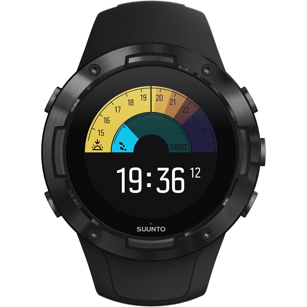 Suunto 5 G1 GPS Uhr Schwarz