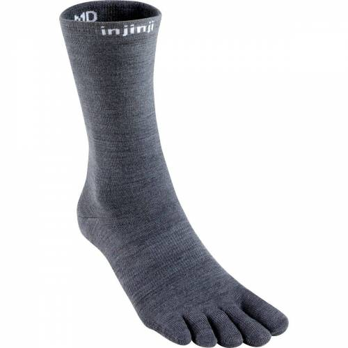 Injinji Liner Crew Socken Grau 45, 46, 47, 44.5