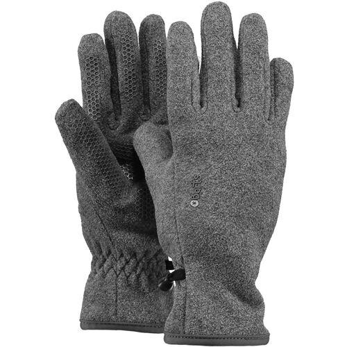 Barts Kinder Fleece Handschuhe Grau L