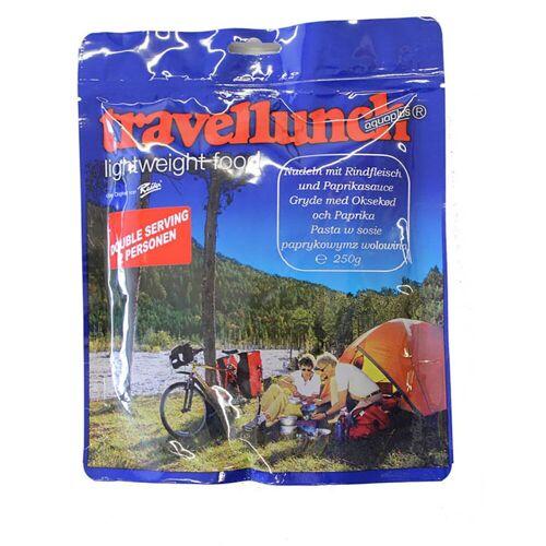 Travellunch Nudeln mit Rindfleisch und Paprikasauce
