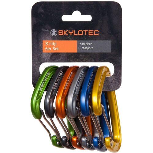 Skylotec X-Clip 6er Pack Karabiner
