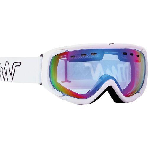 Demon Matrix Skibrille Weiß
