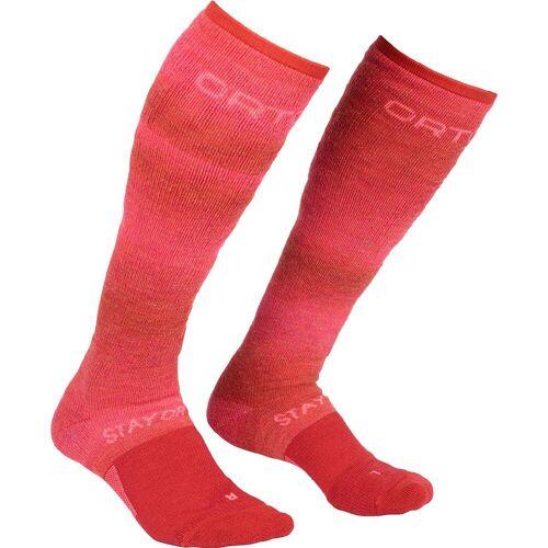 Ortovox Damen Ski Stay or go Socken Rot 36, 35, 37, 38