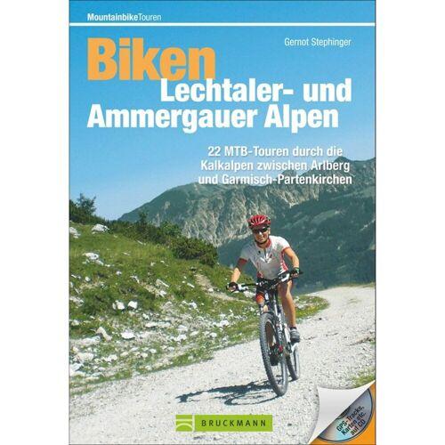 Bruckmann Biken in den Lechtaler- und Ammergauer Alpen