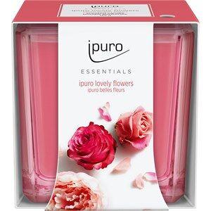 ipuro Raumdüfte Essentials by Ipuro Lovely Flowers Candle 125 g