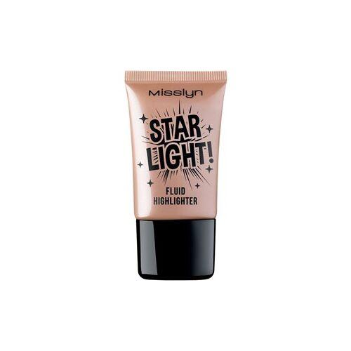 Misslyn Teint Make-up Star Light! Fluid Highlighter Nr. 2 Big Bang Glow! 17 ml