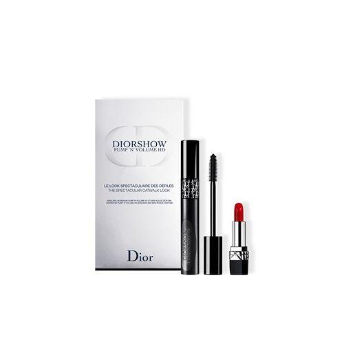 Christian Dior Lippen Lippenstifte Diorshow Pump 'N' Volume HD Set Diorshow Pump 'N' Volume HD 6 ml + Mini Rouge Dior Nr. 999 1 Stk.