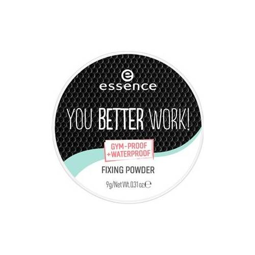 Essence Teint Puder & Rouge You Better Work! Fixing Powder 9 g