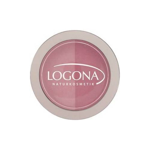 Logona Make-up Teint Rouge Duo Blush Nr. 01 Rose & Pink 10 g