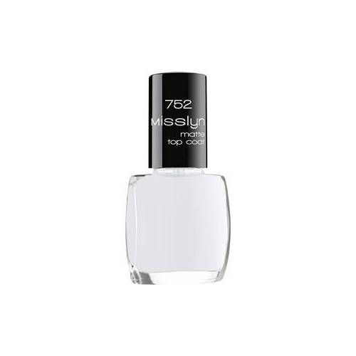 Misslyn Nägel Nagellack Matte Top Coat Nr. 752 Matte It! 10 ml